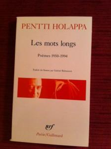 Pentti Holappa : Les mots longs
