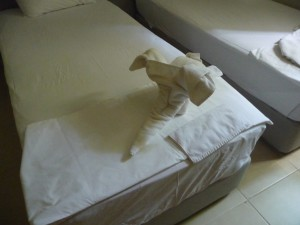 serviettes propres Marina Sentido Suites