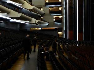 Opéra Bastille la salle