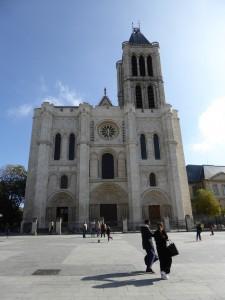 basilique de Saint Denis, façade