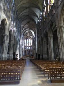 Basilique de Saint Denis, la nef