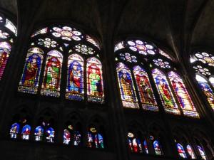 Basilique de Saint Denis, vitraux