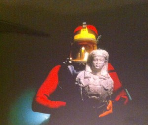 l'archéologue-plongeur, Egypte