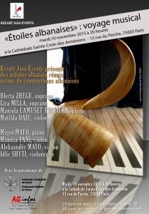 Concert Etoiles albanaises