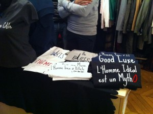t-shirt man and mode