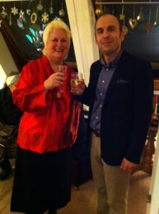 avec Dritan Tola, Ambassadeur d'Albanie
