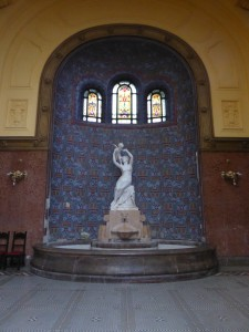 Fontaine Vénus, bains Gellért