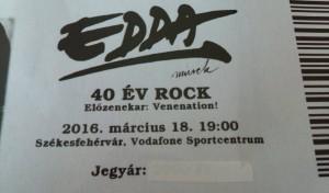 Edda concert des 40 ans
