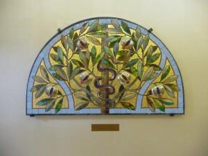 Mosaïque arbre de la connaissance Roth Miksa