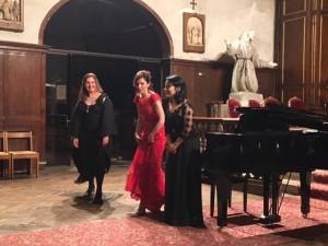 Olga Gurkovska, Abigeila Voshtina et Maniola Camuset-Trebicka