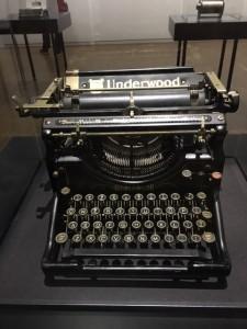 Machine à écrire de Jack Kerouac