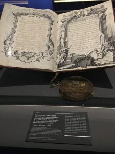 Contrat de mariage Louis et Marie-Antoinette