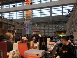 Intérieur stand Maroc Salon Livre Paris