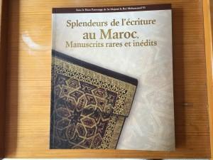 Catalogue Splendeurs de l'écriture au Maroc