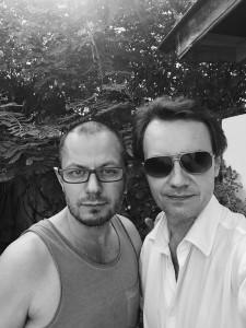 Jérôme Ettinger et Hervé Riesen