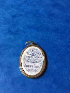 médaille de la Vierge verso