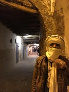 Essaouira le jeune targhi et son geste