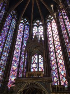 Vitraux de la Sainte Chapelle