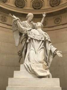 Louis XVI, statue de la Chapelle expiatoire