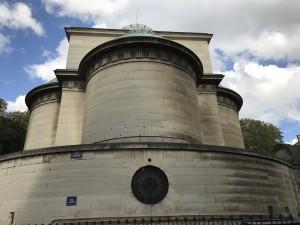 Extérieur de la crypte Chapelle expiatoire
