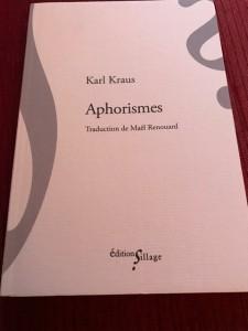 Karl Kraus aphorismes